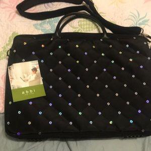 Abbi sparkle laptop carrying case